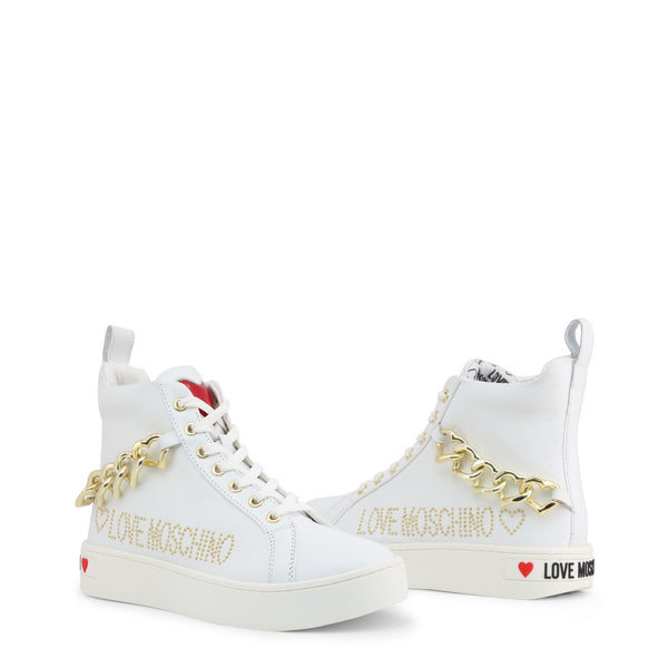 Love Moschino Women's Trainers White JA15533G1AIF
