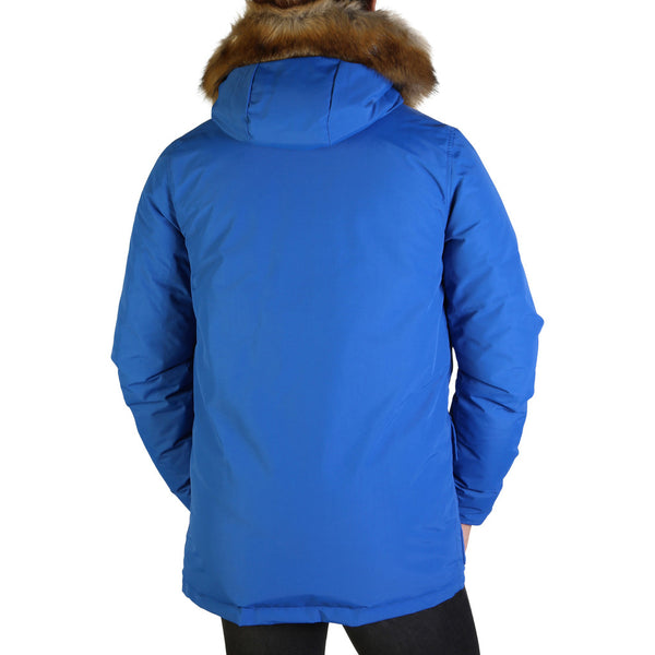 Refrigue Men's Parka Jacket Blue LISK-A