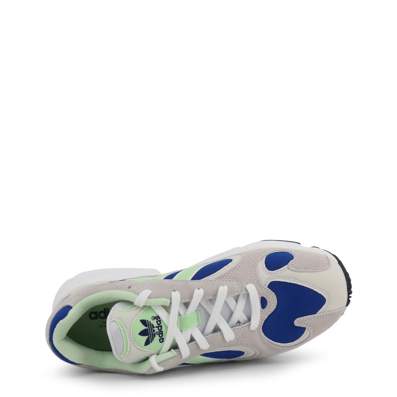 Adidas YUNG-1 Men's Trainers Grey and Blue EE5318