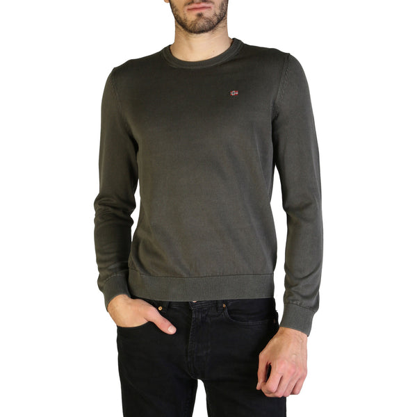Napapijri Men's Jumper Grey DROZ_N0YH2T
