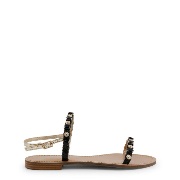 Versace Jeans Black Sandals VRBS52