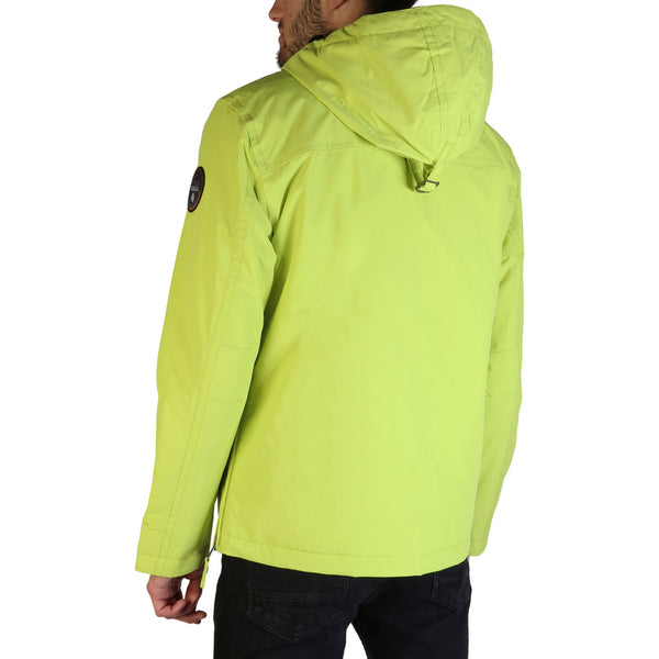 Napapijri RAINFOREST-N0YGNL Men's Jacket Green