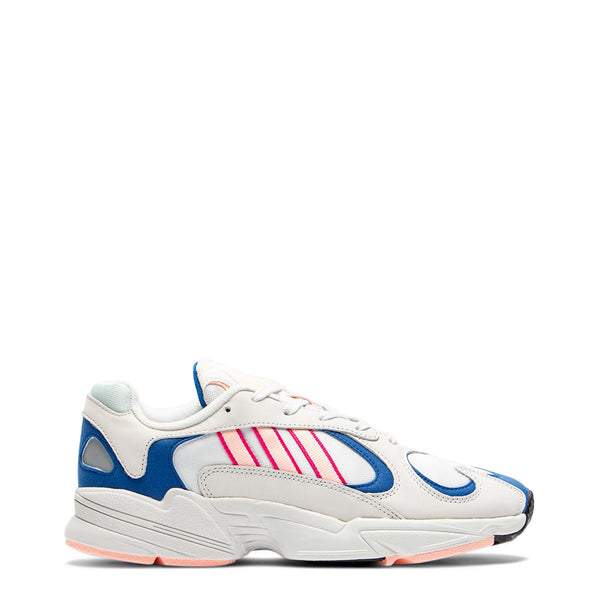 Adidas YUNG-1 Unisex Trainers White Blue Pink