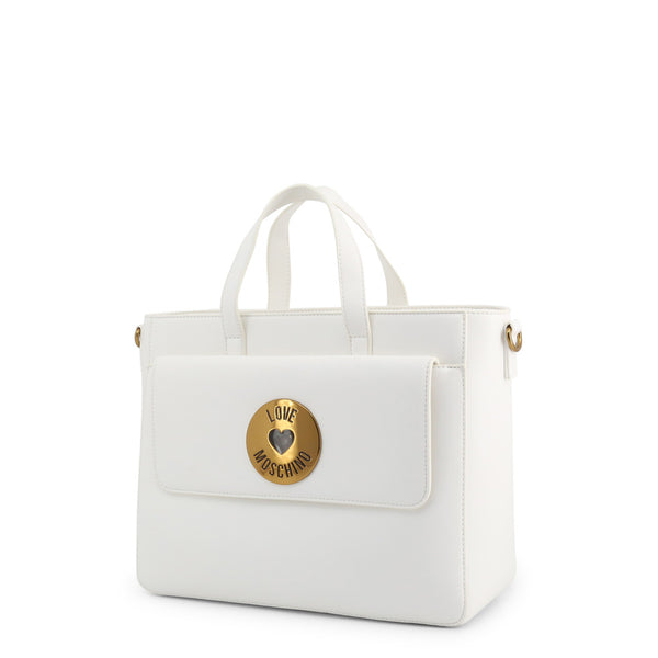 Love Moschino Handbags White - JC4048PP1ALG