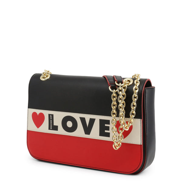 Love Moschino Shoulder Bag Red and Black JC4230PP08KD