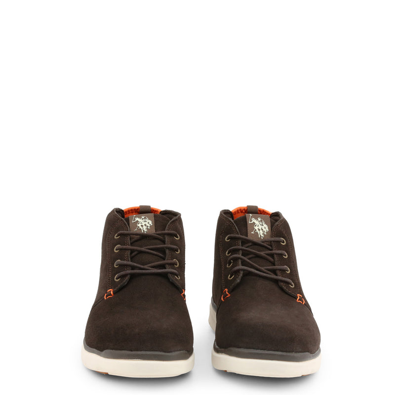 U.S. Polo Assn. Men's Lace Up Shoes Brown YGOR4128W9_SY1