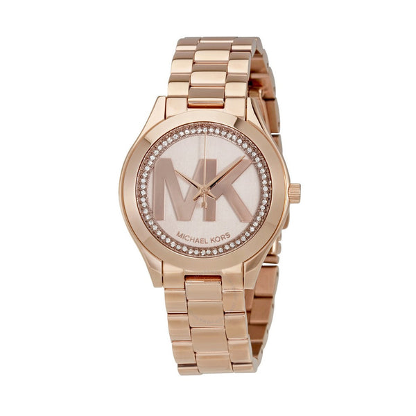 Michael Kors Ladies Gold Watch MK3549