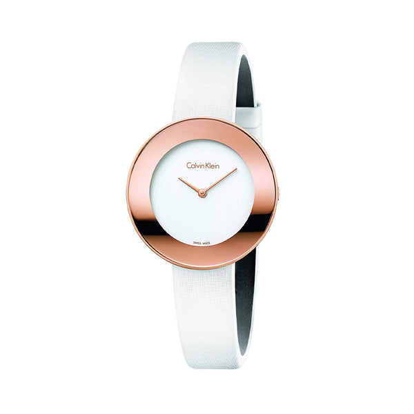 Calvin Klein Ladies Watch K7N23B White