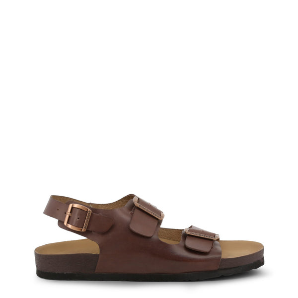 Docksteps Mens Flip Flop Brown VEGA-2288