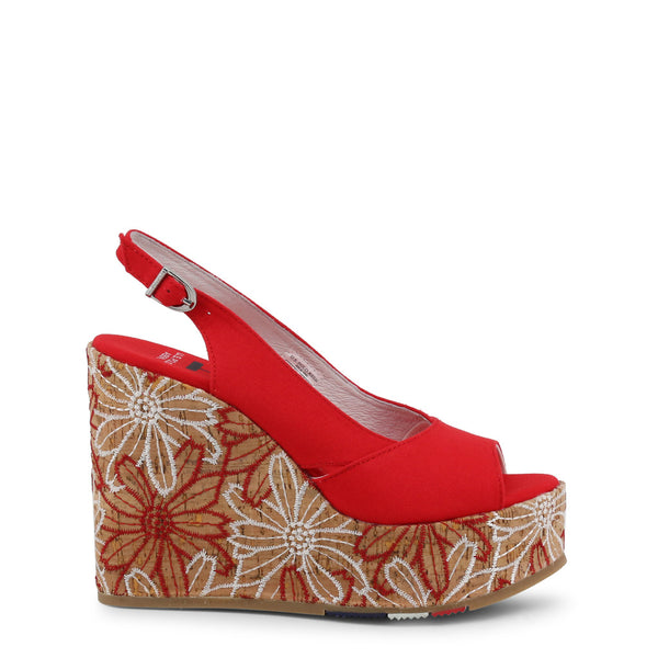US Polo ASSN Red Wedges GOLDY4072S9_T1