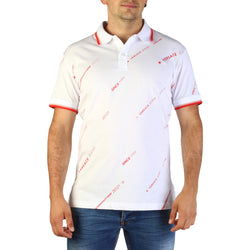 Versace Jeans Men's Polo Shirt B3GTB7P8-36610-White