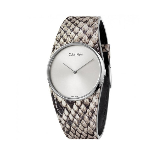 Calvin Klein Ladies Silver Watch K5V231