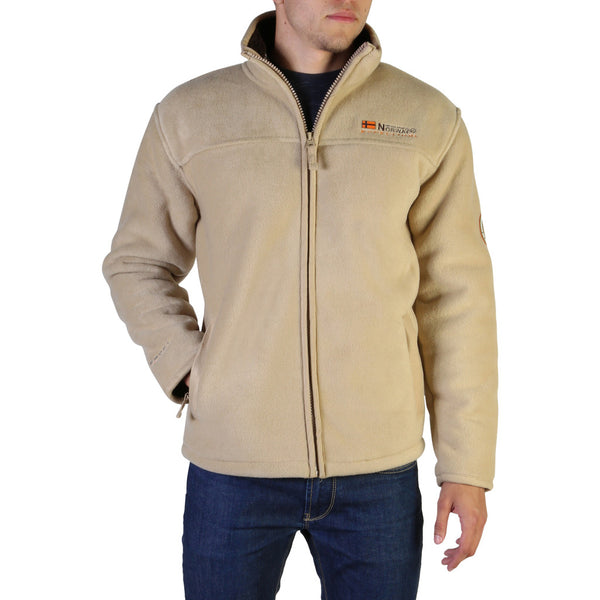 Geographical Norway Men's Jacket Brown Usine_man