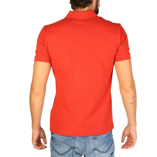 Napapijri Mens Polo Orange N0YILY