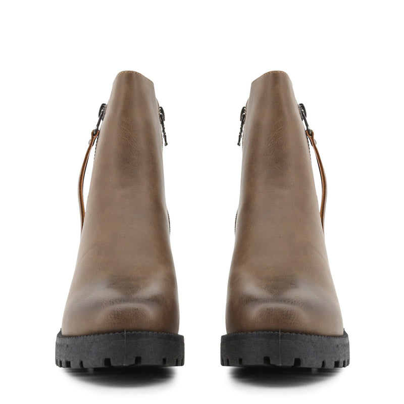Xti Brown Ankle Boots 33859