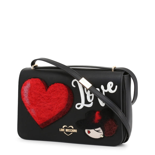 Love Moschino Crossbody Bag Black JC4089PP18LP