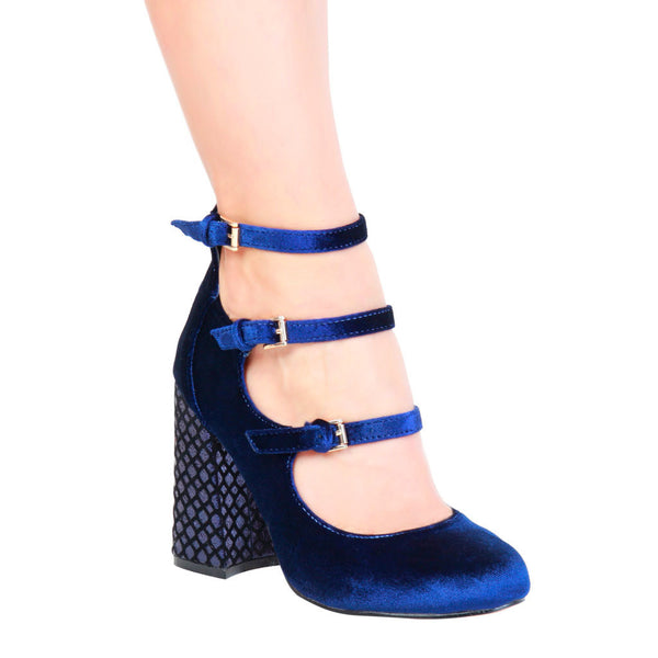 Fontana 2.0 Navy Shoes for Wedding GIULIA