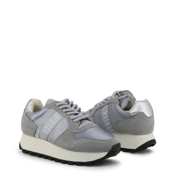 Bikkembergs Womens Trainers Grey FENDER-2087