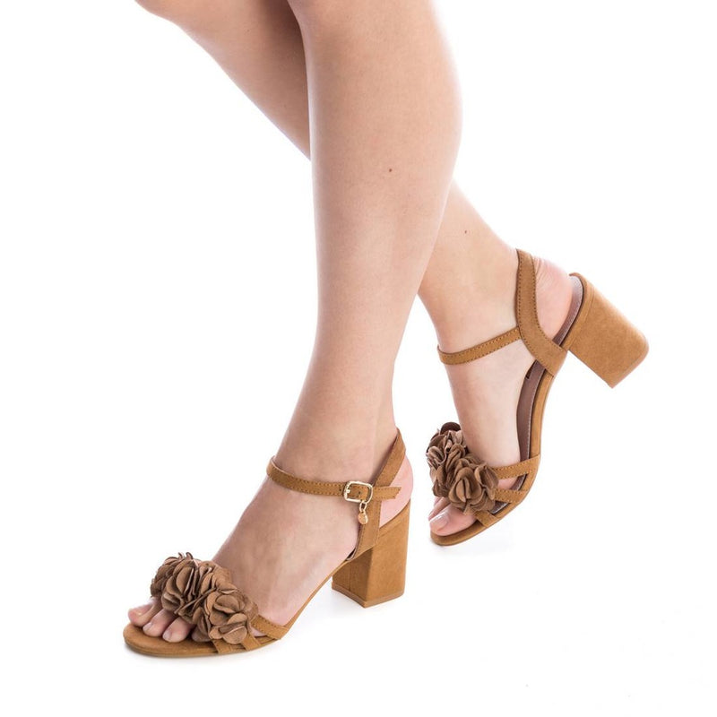 Xti Womens Sandals Brown 30714