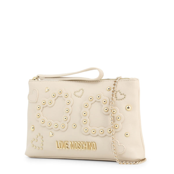 Love Moschino Clutch Bag  White JC4033PP1ALE