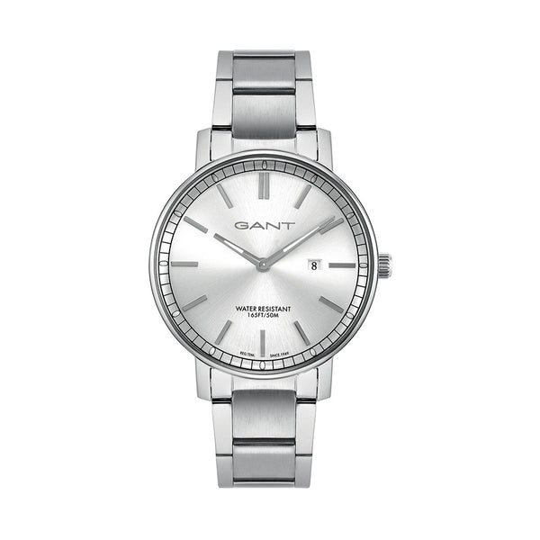 Gant Mens Silver Watch NASHVILLE