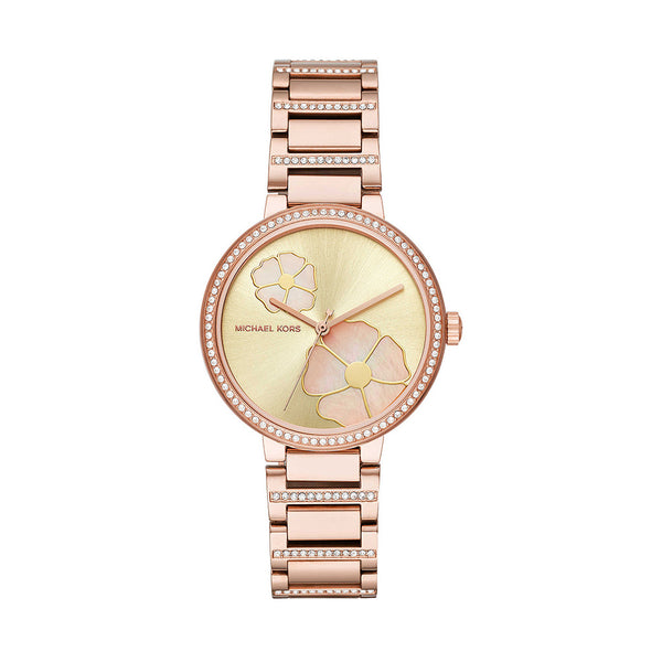 Michael Kors Ladies Gold Watch MK3836