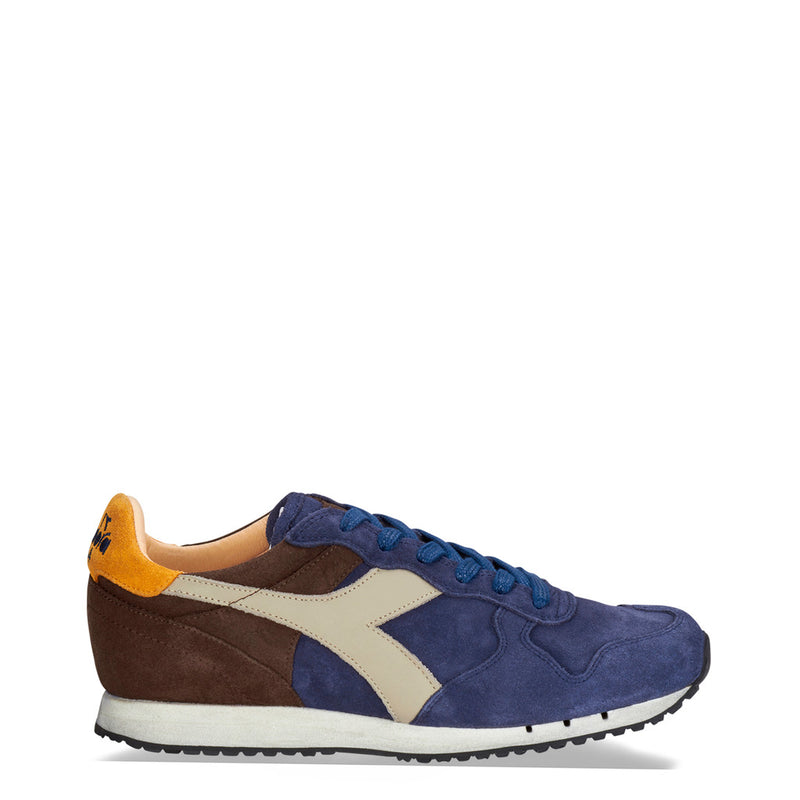 Diadora Heritage Mens Trainers Blue TRIDENT_S_SW