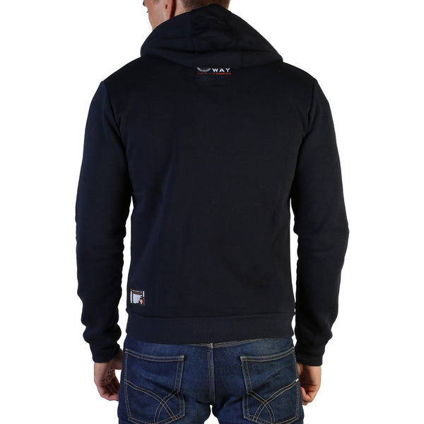 Geographical Norway Men's Hoodie Black Gasado_man