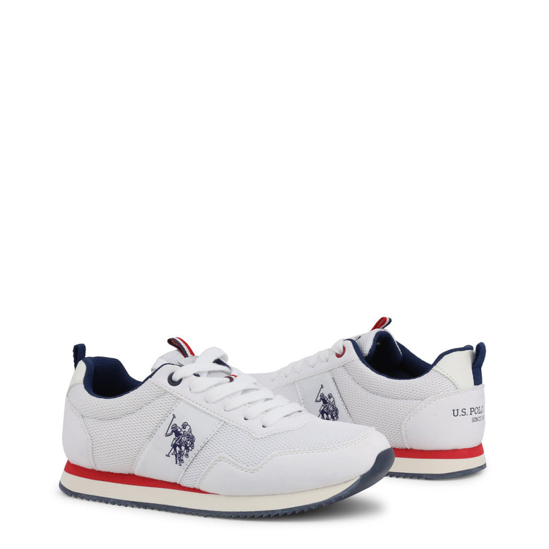 U.S. Polo Assn. Women's Trainers White CORA4205W9_TS1