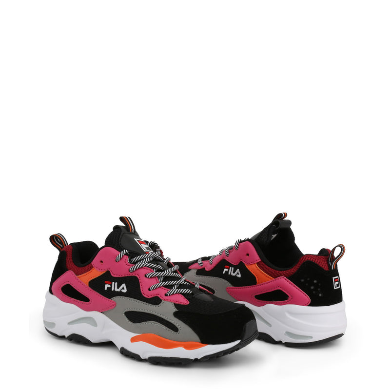 Fila Trainers Women's RAY TRACER (Pink and Black) - 1010686