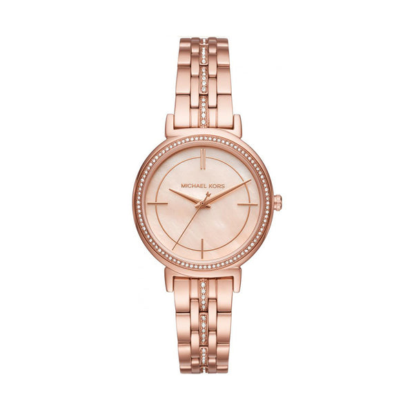Michael Kors Ladies Gold Watch MK3643