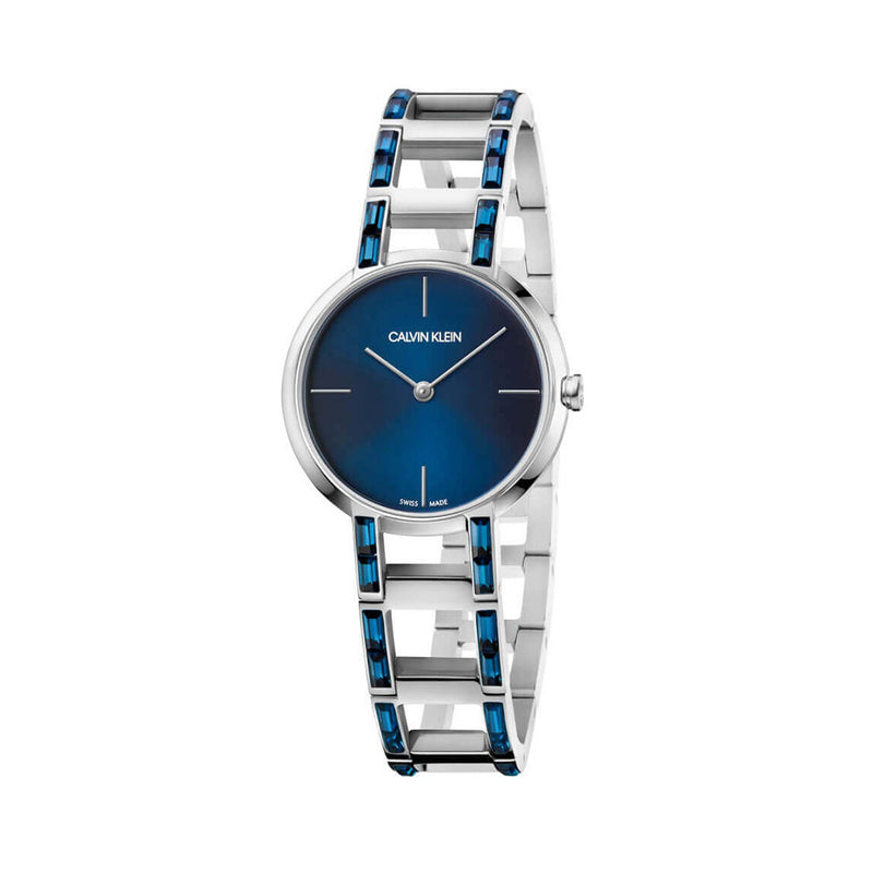 Calvin Klein Women's Watch K8N Blue