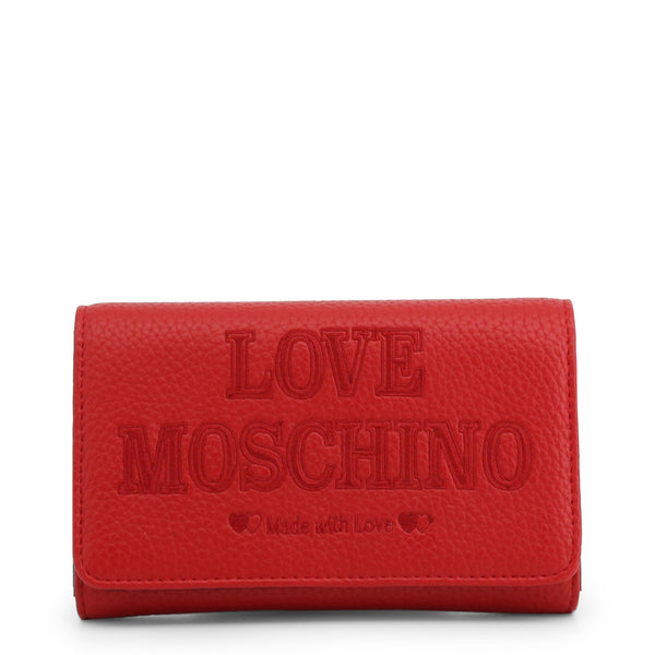 Love Moschino Clutch Bag Red JC5646PP08KN