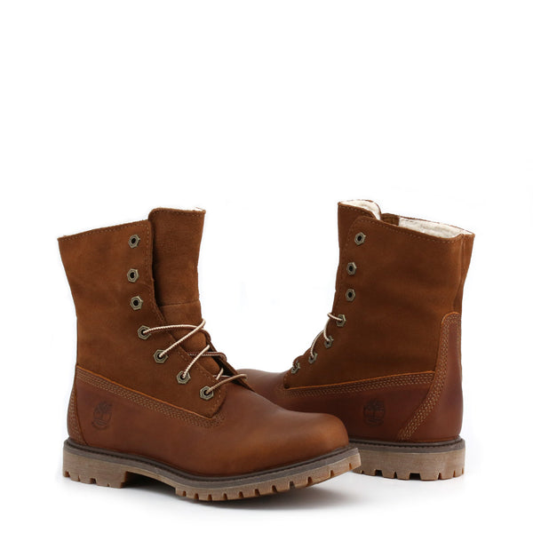 Timberland Men's Ankle Boots Brown AUTH-TEDDYFLEECE