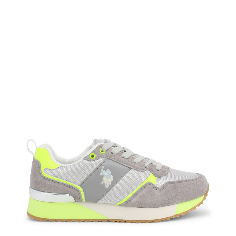 U.S. Polo Assn. Women's Trainers Grey FRIDA4103W8_MS1