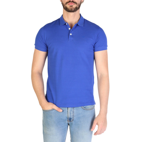 Emporio Armani Men's Polo 8N1F12 Blue