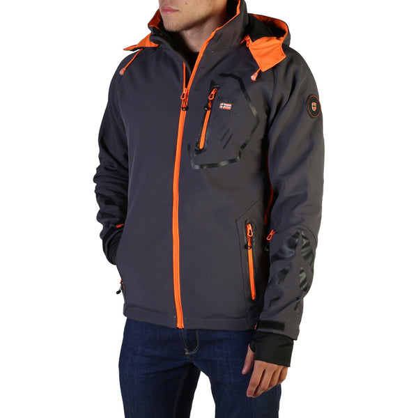 Geographical Norway Men's Jacket Grey Tranco_man