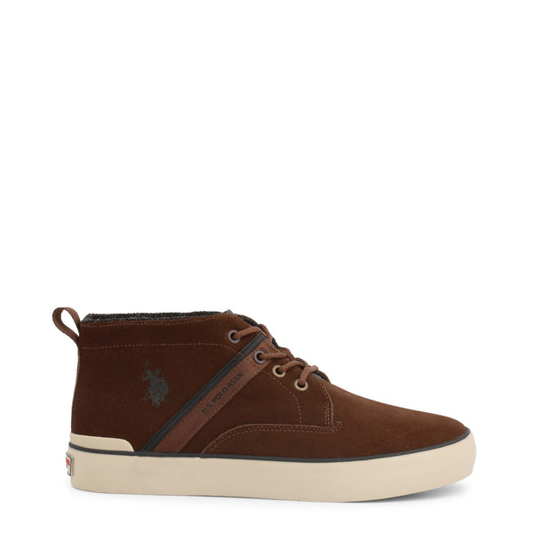U.S. Polo Assn. Men's Trainers Brown ANSON7105W9_S1