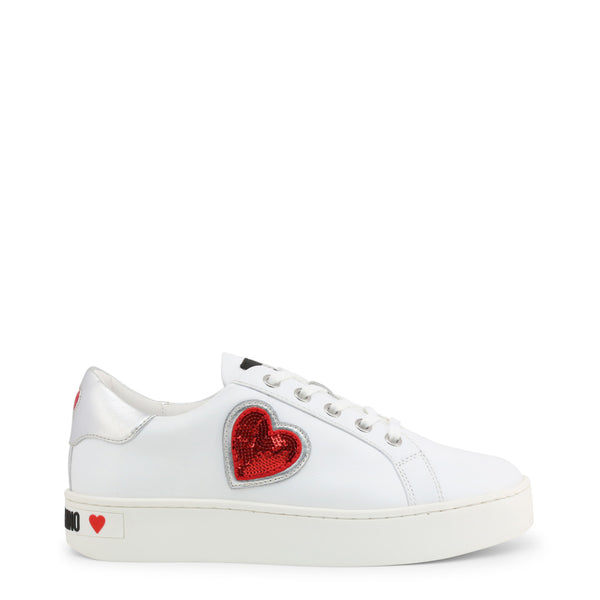 Love Moschino Women's Trainers White JA15063G1AIF