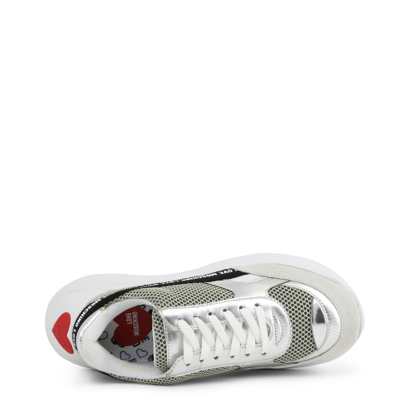Love Moschino Women's Trainers White JA15086G1AIO
