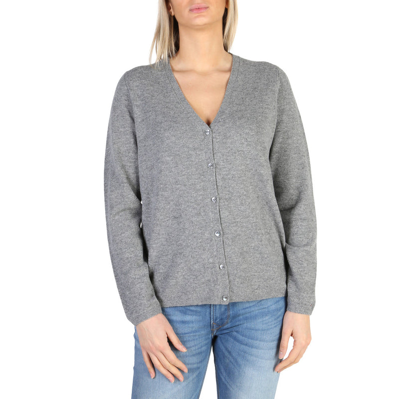 Tommy Hilfiger Women's Jumper Grey  WW0WW20947