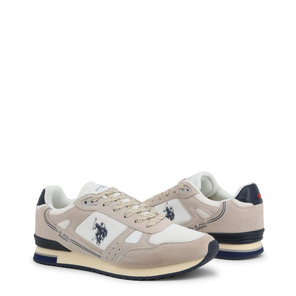 U.S. Polo Assn. Men's Trainers Brown FERRY4083W8_SM1