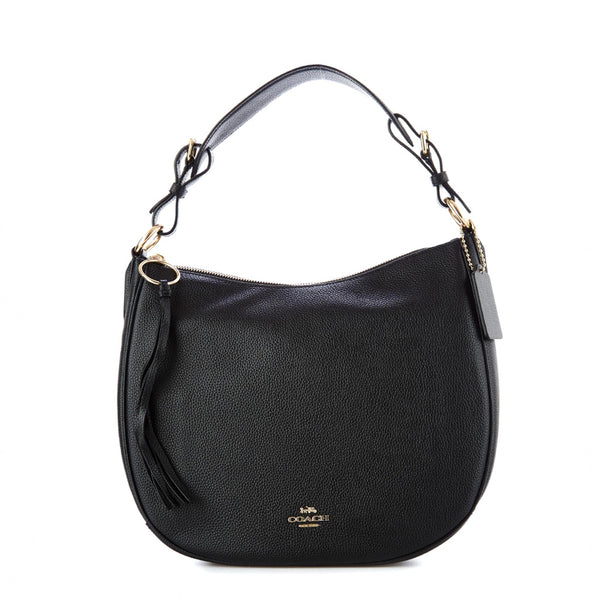 Coach Sutton Hobo Shoulder Bag Black 35593