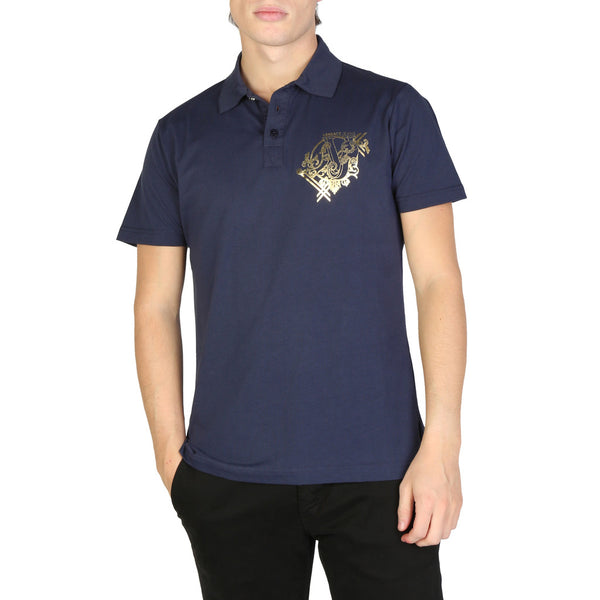 Versace Jeans Men's Polo B3GSB7P0_36610 Blue