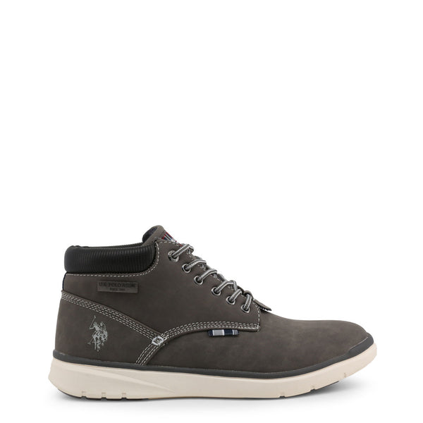 U.S. Polo Assn. Grey Men's Lace Up Shoes YGOR4081W8