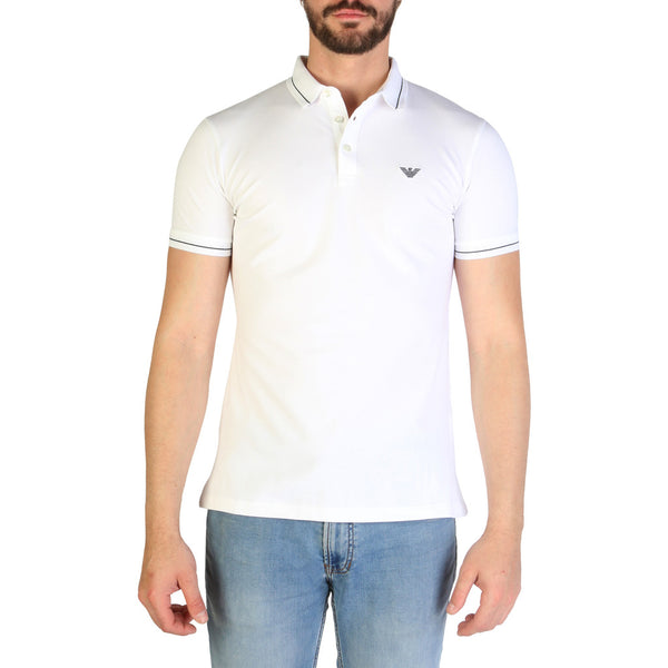 Emporio Armani Men's Polo 3G1F65 White