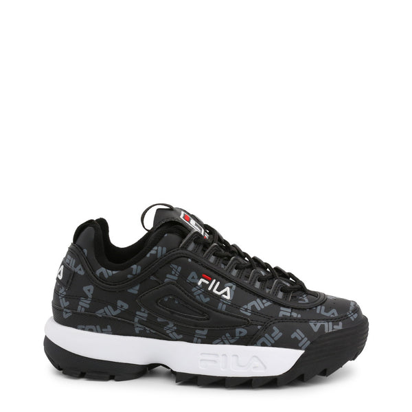 Fila Trainers Women's Disruptor (Black) - LOGO-LOW-1010748