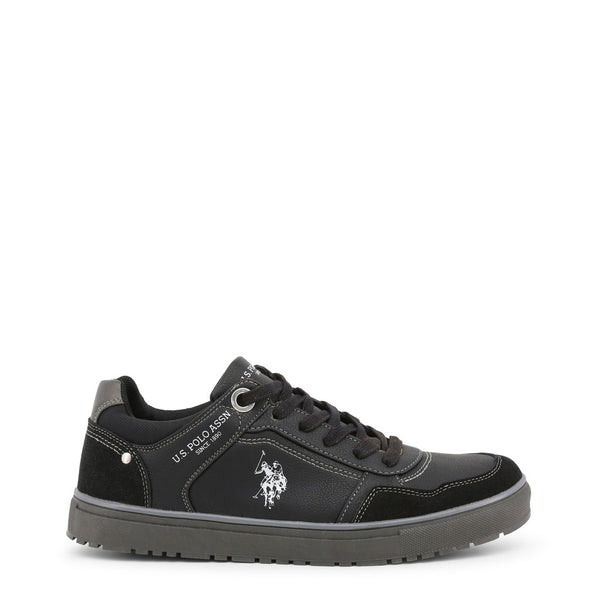 US Polo ASSN Mens Trainers Black WALKS4170W8