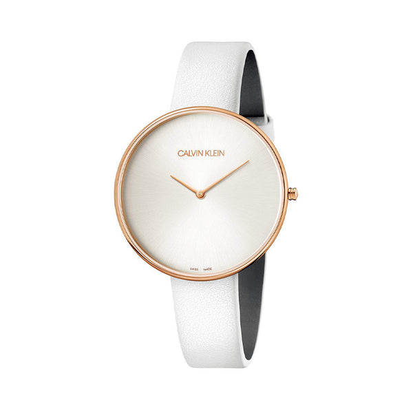 Calvin Klein Women's Watch White K8Y23