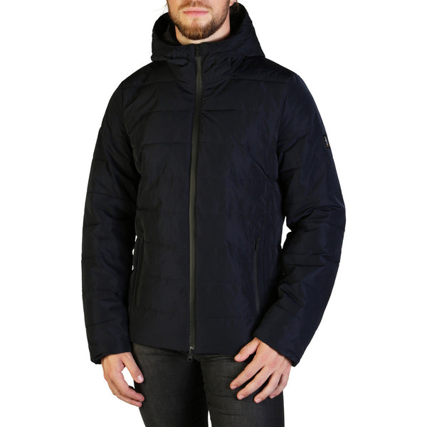 Refrigue Men's Parka Jacket Navy BACKEN-A